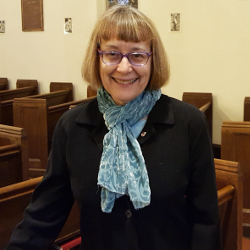 Photo of Gillian McMullen, Junior Warden of the Vestry at Saint Peter's Episcopal Church