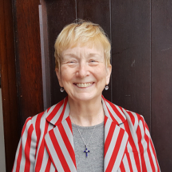 Photo of Kathleen Rawlins, Senior Warden of the Vestry at Saint Peter's Episcopal Church