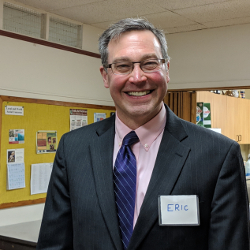 Photo of 2019 Vestry member Eric Lightcap